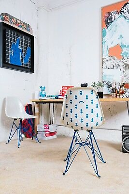 Modernica x Colette x Black Rainbow Case Study Blue Eiffel Chair