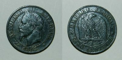 France :  5 Centimes 1863 A - Napoleon Iii