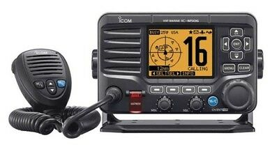 Icom M506 VHF Radio with AIS Receiver / Rear-Mount Mic / Hailer  IC-M506 41