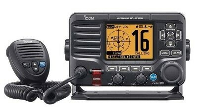 Icom M506 VHF Radio Fixed Mount w/ Built-in 2-way 25 Watt Loudhailer IC-M506 01