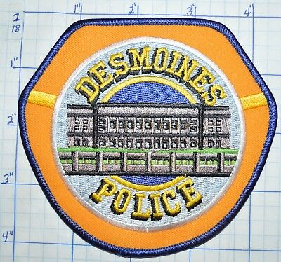 Iowa, Desmoines Police Dept Patch