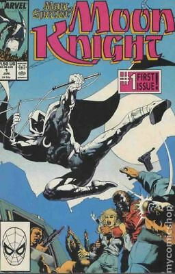 Marc Spector Moon Knight #1 1989 FN+ 6.5 Stock Image