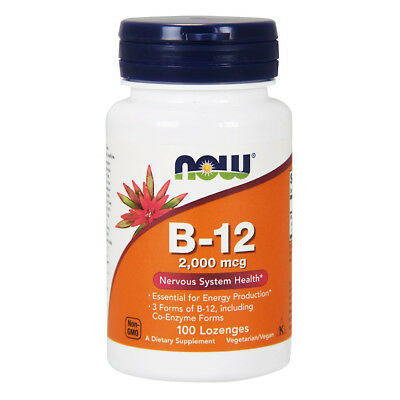 NOW FOODS Vitamin B-12 2000mcg 100 compresse - VITAMINE