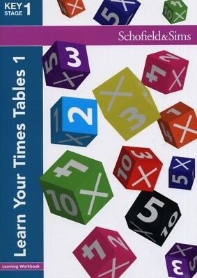 Learn Your Times Tables Book 1 (of 2): Key Stage 1, Years 1 & 2 (...