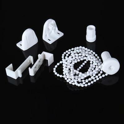 18mm Plastic Roller Blind Shade Cluth Bracket Bead Chain Kits Curtain Pole Hot