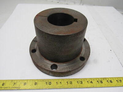 "2.5"" Finished Bore Steel Split Taper Bushing 7-1/4"" OD 4.5"" Wide"