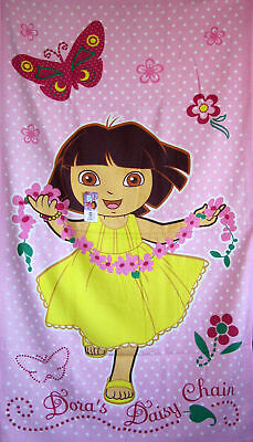 DORA The Explorer Bath, Beach, Pool Towel  100% Cotton