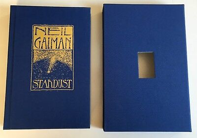 Stardust by Neil Gaiman, Charles Vess SIGNED x 2 1st LIMITED in slipcase of 2000