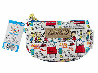New Peanuts Gang Snoopy mini purse -  coin purse - wallet with wrist strap #1