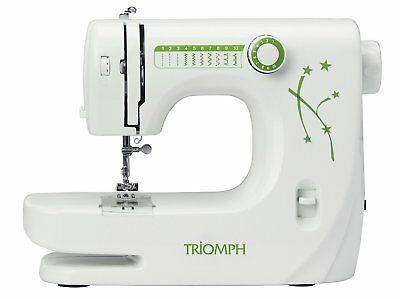 Triomph Etf1527 Domestic Low Energy Consumption Dressmaking Sewing Machine New