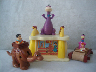3 McDonald's Inhalte *Familie Feuerstein / The Flintstones* 1993