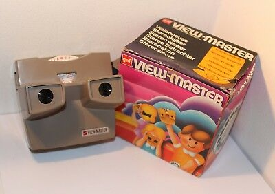 GAF VIEW-MASTER ILLUMINATED Model H STEREO VIEWER STEREOSCOPE , BOXED