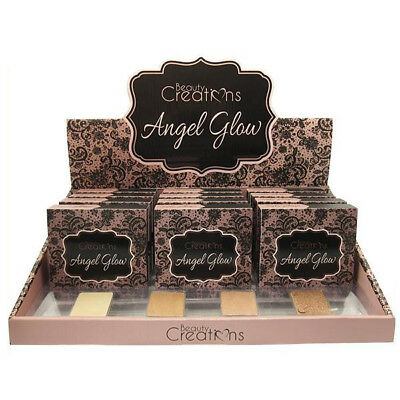 BEAUTY CREATIONS Angel Glow Highlight Palette Display Set, 12 Pieces plus