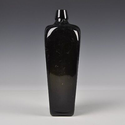 An Excellent Antique Dutch Green Glass Wine Bottle Late 18th Century