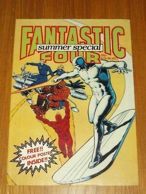 Fantastic Four Summer Special 1982 Marvel British Weekly Scarce