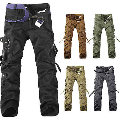 herren cargohose army cargo milit r arbeitshosen chino camo camouflage hosen eur 5 29. Black Bedroom Furniture Sets. Home Design Ideas
