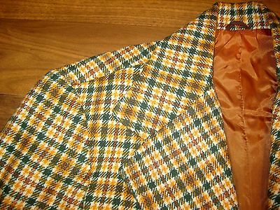 NEW Vtg 60s 70s Green Bay PACKERS Vince Lombardi 40 Sport Coat Jacket Blazer NWT