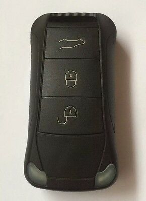 3 Button Key Case to Repair Replace New or Old Key Case Porsche Cayenne 2003-10