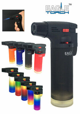 Eagle Jet Torch Gun Lighter Adjustable Flame Butane Refillable