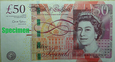 Real bank of england money currency fifty £50 pound banknotes 2011 2015