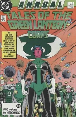 Tales of the Green Lantern Corps Annual #3 1987 VG Stock Image Low Grade