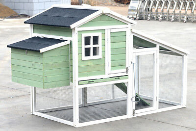 LARGE Chicken Coop Rabbit Guinea Pig Hutch Ferret House Chook Hen House Run