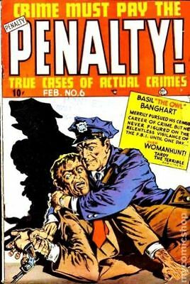 Crime Must Pay The Penalty #6 1949 GD 2.0