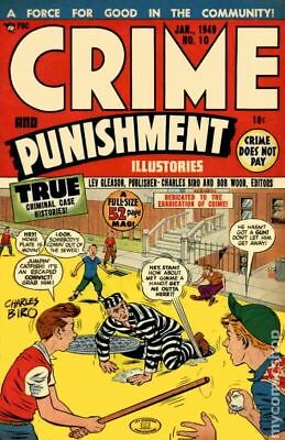 Crime and Punishment #10 1949 FR/GD 1.5
