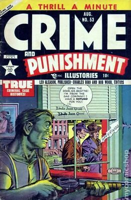 Crime and Punishment #53 1952 GD/VG 3.0