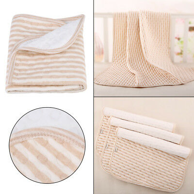 3Sizes Waterproof Baby Urine Mat Diaper Nappy Kid Bedding Changing Cover Pad New