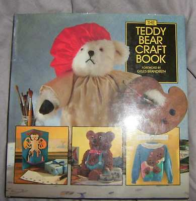 """the Teddy Bear Craft Book"" Hardcover, Bear Making And Teddy Bear Craft  (#x-693"