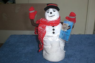 Warner Brothers 1998 JACK FROST SNOWMAN  Bean Bag Plush NEW