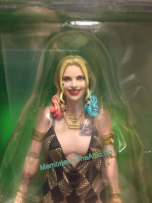 Medicom Mafex Suicide Squad Harley Quinn Dress Version Figure Bubble No 42 US DC