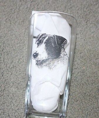 Jack Russell Terrier Design Tumbler Glass -  NEW -  MUST L@@K!