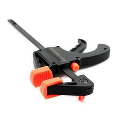 """4"""" F woodworking Clamp Clip Quick Grip Heavy Duty Wood Carpenter Tool Clamp BS"""