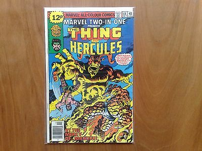 Marvel Two-In-One The Thing & Hercules #44 Oct 1978 Fine Copy Stan Lee