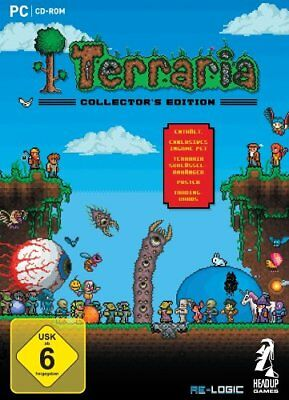 Terraria - Collector´s Edition Collectors PC NUEVO + emb.orig