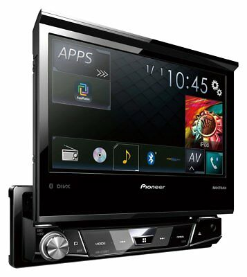 Pioneer AVH-X7700BT Single DIN 7 Inch Flip Out Display Car Stereo Head Unit.