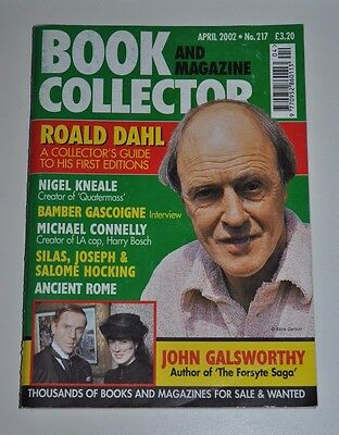 Book Collector # 217 April 2002 - Roald Dahl, Silas Hocking, Michael Connelly