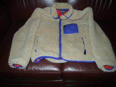 Vintage Patagonia High Deep Pile Fleece Retro Sherpa Style Jacket  Medium