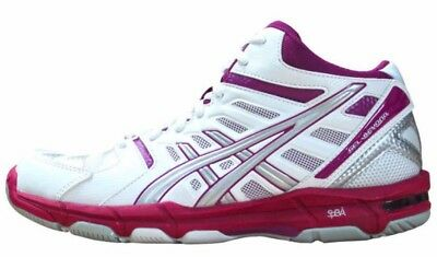 Womens Ladies asics Gel Beyond Volleyball Indoor Court Shoes Trainers Size 8.5