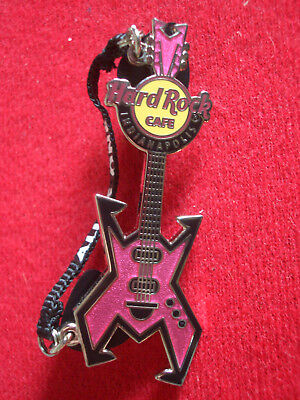 HRC Hard Rock Cafe Indianapolis Mantra Strap Guitar Series 2008 LE500