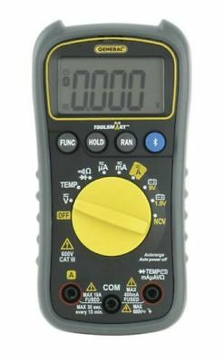 General Tools TS04 ToolSmart Bluetooth Connected Digital Multimeter, Auto