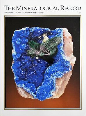 Kaokoveld,namibia Franklin Zincite The Mineralogical Record Sept-Oct 2013 Vol 44