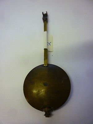 Original Antique French Movement Brass Pendulum with bottom adjustment (2)