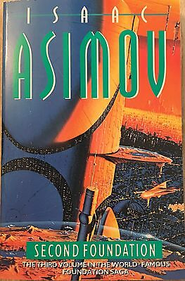 Second Foundation  Isaac Asimov Paperback Book 1994