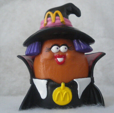 McDonald's Monster Nuggets Hexe Halloween MC Nugget Buddies