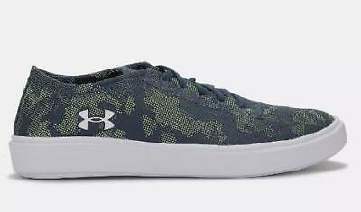 6cf7c850c6f Boy s Youth UNDER ARMOUR Blue+Green KickIt2 Athletic Casual Shoes 1303509  NEW