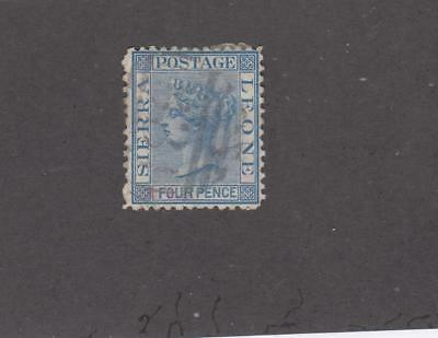 Sierre Leone Collection Of Various Queen Victorian Issues Cat Value $430