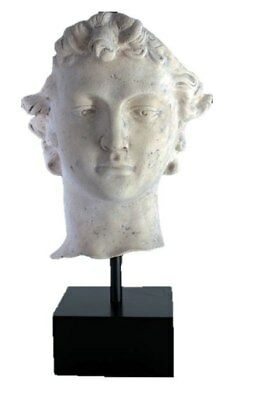 Statue or Bust of David on Pedestal faux marble stone fsnh Tall Sculpture